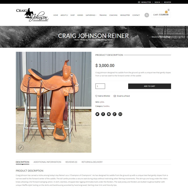 Craig-Johnson-Product-page-Wordpress-eCommerce